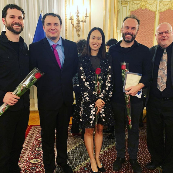 ASCAP Members after the 2nd New Vision Composition Competition, Polish Consulate in NYC,2019
