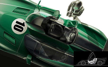 JAGUAR D-TYPE RACE VISION
