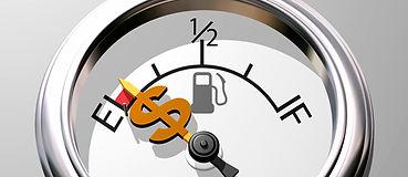 Fuel Guage Money