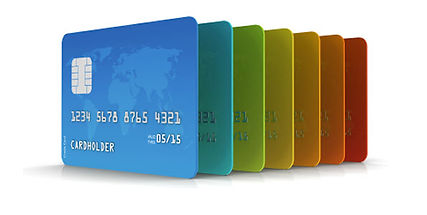 Credit Card Rainbow