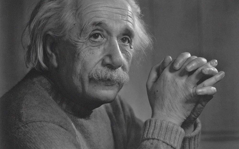 אלברט איינשטיין - לפני