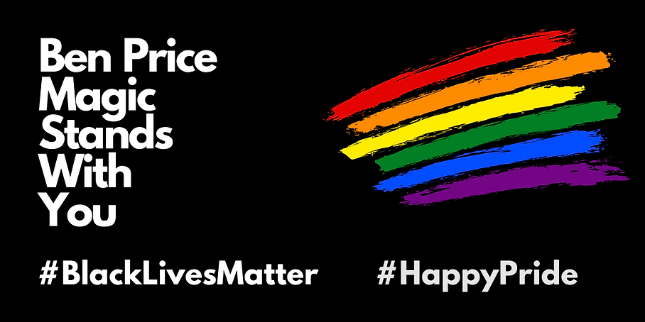 Black Lives Matter and Pride statement of support
