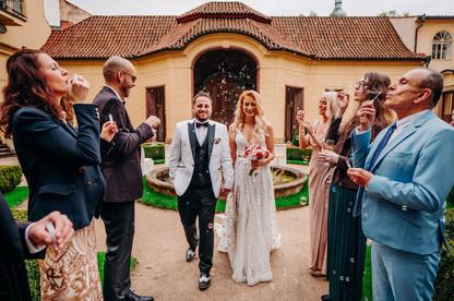 International destination wedding in pra