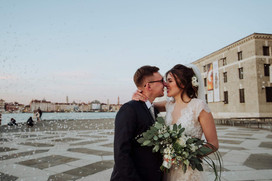 Lucy&James in Venice