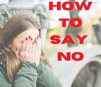 How to say NO ⛔ איך להגיד לא