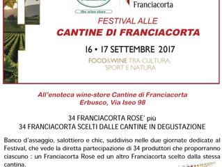 Festival alle Cantine di Franciacorta | 16 settembre 2017