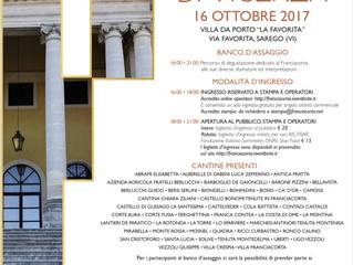 Festival Franciacorta a Vicenza il 16 ottobre
