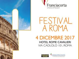 Festival Franciacorta a Roma il 4 dicembre!