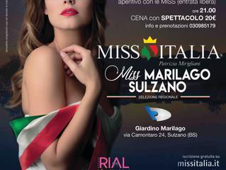 Aperitivo con le Miss, venerdì 13 luglio al Marilago!