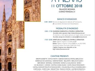 L'11 ottobre è Festival Franciacorta a Milano
