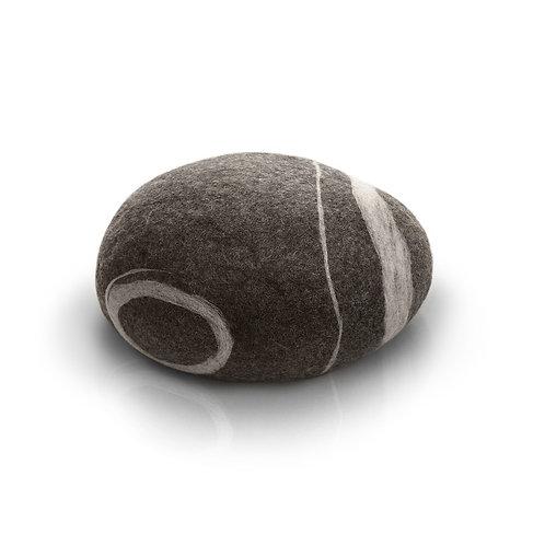 "Model ""Baby Stone"", color 05 gray, 50x35x30cm (23.6x19.6x11.8in)"