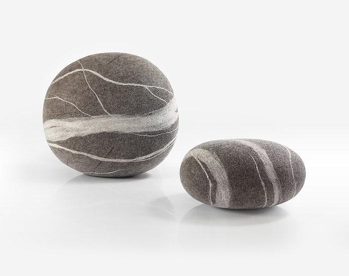 Katsu это мягкие войлочные камни из шерсти. Katsu is soft felted stones from natural wool.