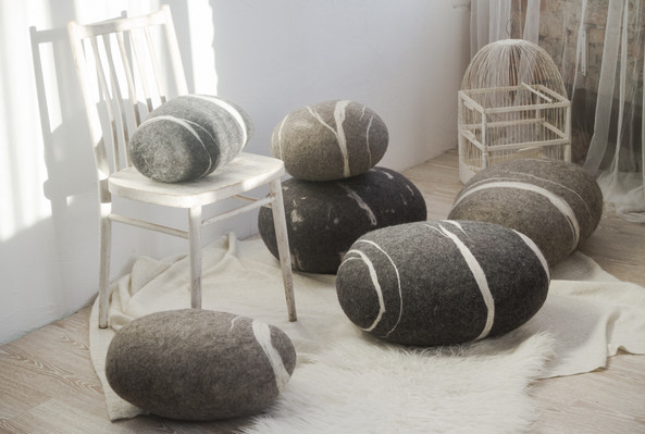 Katsu - Felted Stone Collection