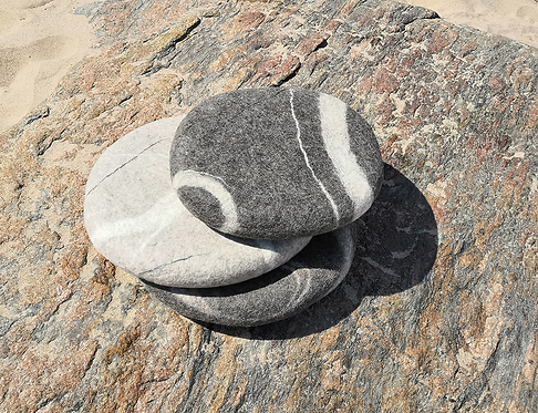 """Seat Pad """"Stone Baby"""", 35x35x5cm (13.7x13.7x2in)"""