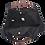 Thumbnail: BLACK COTTON SHOULDER BAG WITH BETHLEHEM EMBROIDERY