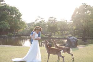 日本京都婚紗側拍攝花絮