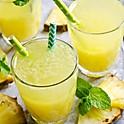 Suco de abacaxi com hortelã (fruta) 300ml