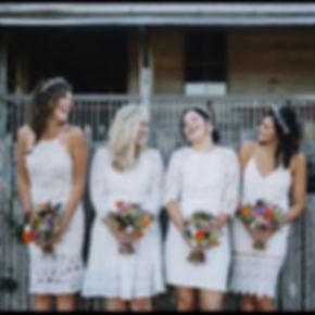 Yandina Station Wedding, Natural bouquets,