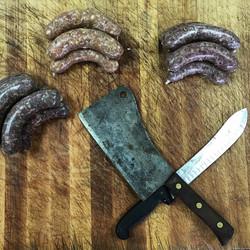 Lagunitas Sausage (middle) back this wee