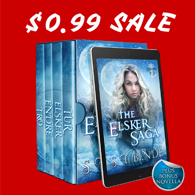 First EVER Elsker Saga Box Set Sale!