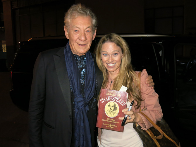 The Day I Met Sir Ian McKellen . . . and Magneto Signed My Shakespeare!