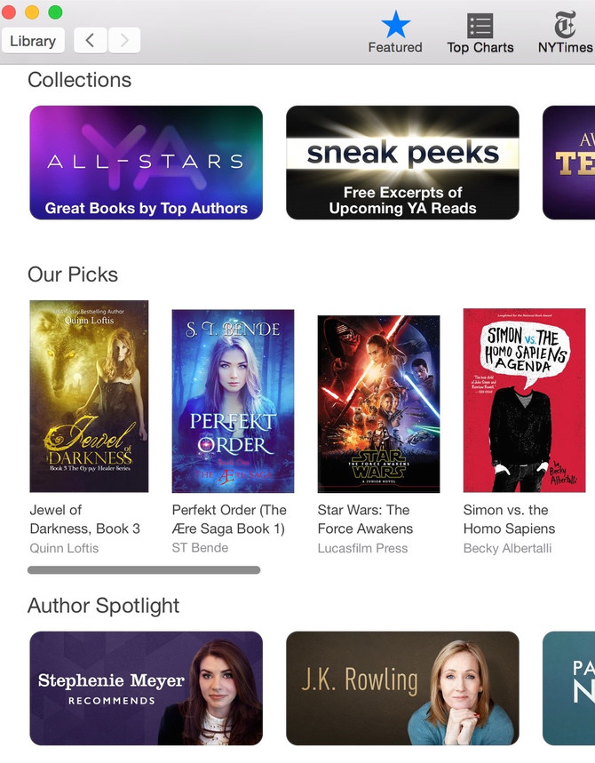 The Force is Strong with iBooks