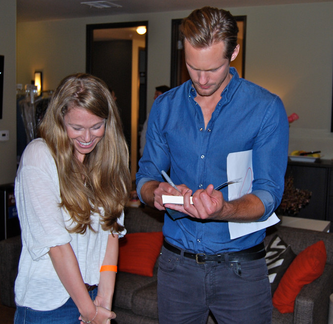 The Day I Met Alexander Skarsgard