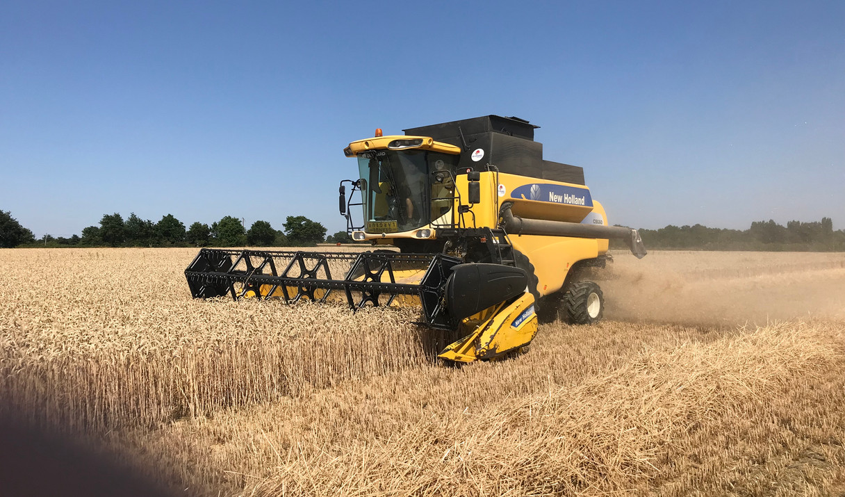 moissons blé 2019