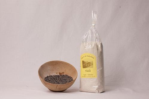 Farina nera di grano saraceno fine