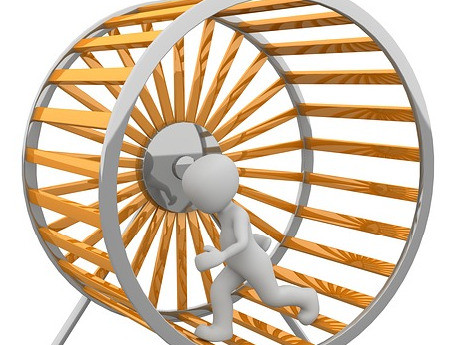 Performance Anxiety = Running on a Hamster Wheel