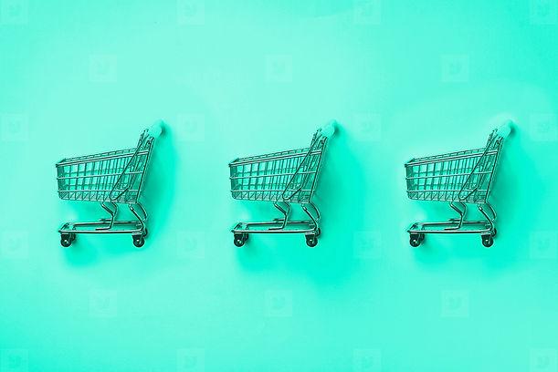 Shopping Cart on Mint Backgrond.jpg