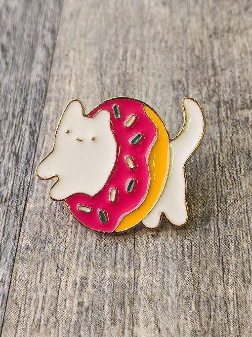 Donut Cat : Pin