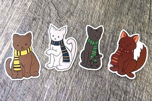 HP House Cats: Sticker