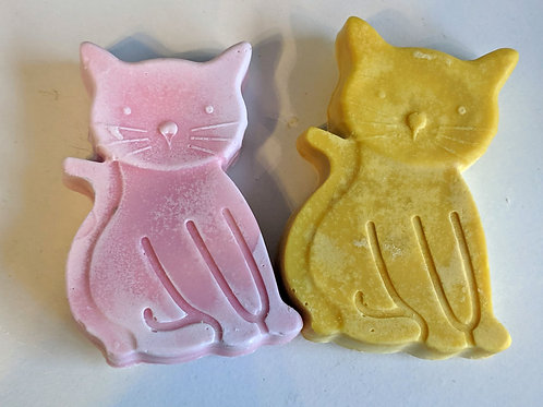 Homemade Cat Soap