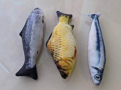 Catnip Fish Toy