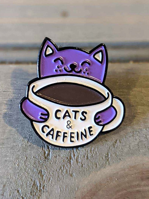 Cats & Caffeine: Pin