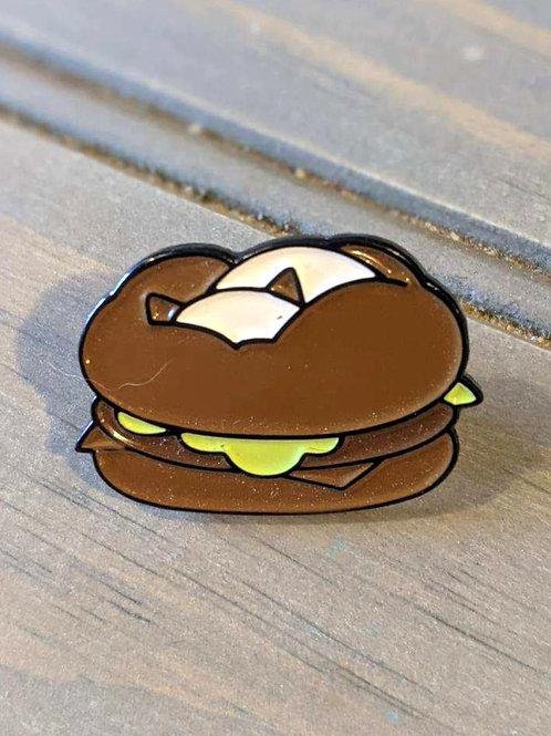 Burger Loaf Cat: Pin