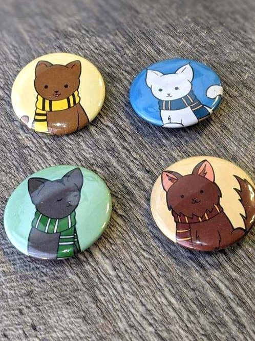 HP House Cats: Button Pin