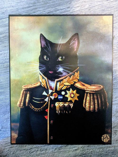General Cat Print