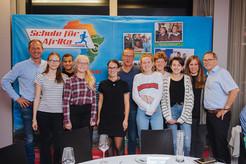 Die gesamte rostocker Projektgruppe bei einer Veranstaltung von Hubert Schwarz