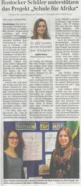 Artikel vom 13.03.2018 aus der Ostsee Zeitung