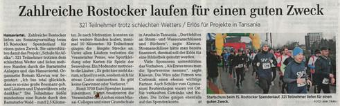 Artikel vom 28.01.2019 aus der Ostsee Zeitung