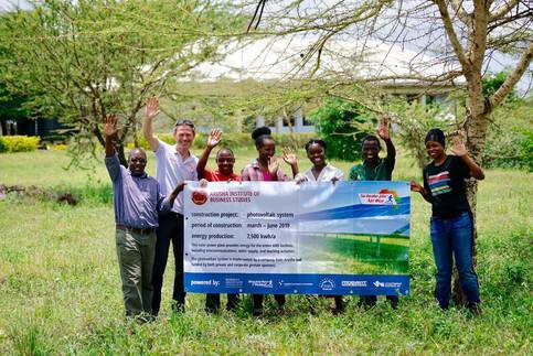 Projekt- und Baustart der Photovoltaikanlage in Arusha/Tansania