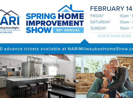 Join Design Tech Remodeling at the NARI Milwaukee Spring Home Improvement Show!