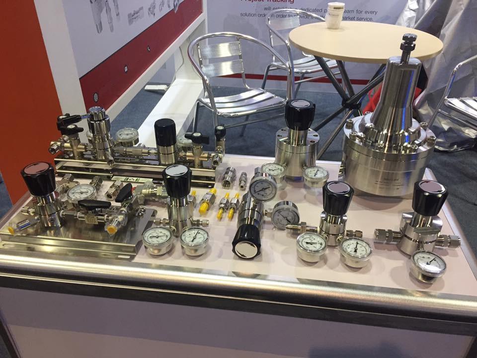 H2 Hydrogen oxygen Rgulator Valve Fittin