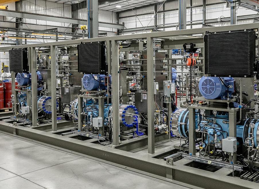 Hydrogen Station Compressor Fuel H2