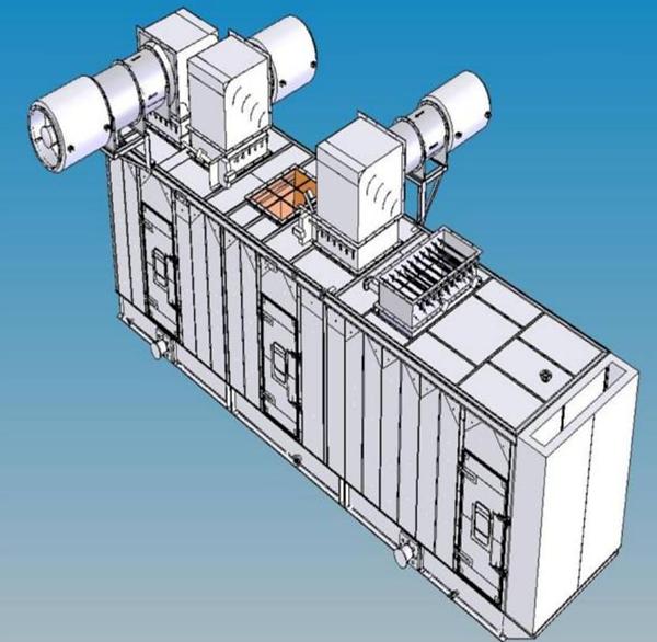 Gas Turbine Power Plant LPG Hydrogen Fuel MW