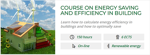 COURSE ON ENERGY SAVING AND EFFICIENCY I