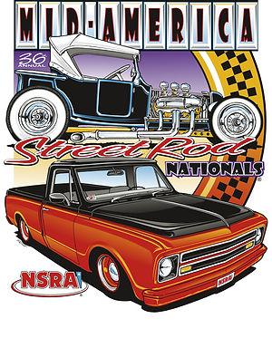 Hot Rod Car Show Event 36th Annual Mid A