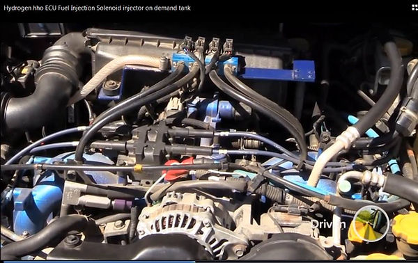 Hydrogen on Demand Vehicle Car 4WD Fuel
